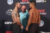 Видео боя Мэтт Браун - Мигель Баеза UFC on ESPN 8