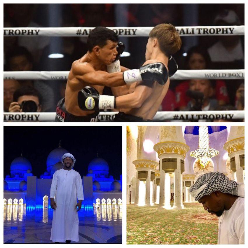 InstaBoxing 9 октября 2018: Иноуэ нокаутирует Пайано, Мейвезер посетил Абу Даби
