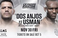 РП ММА №37: UFC The Ultimate Fighter 28 Finale Дос Аньос vs. Усман