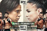 Прямая трансляция UFC 224