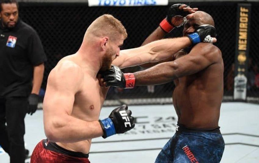 Ян Блахович нокаутировал Кори Андерсона на UFC Fight Night 167
