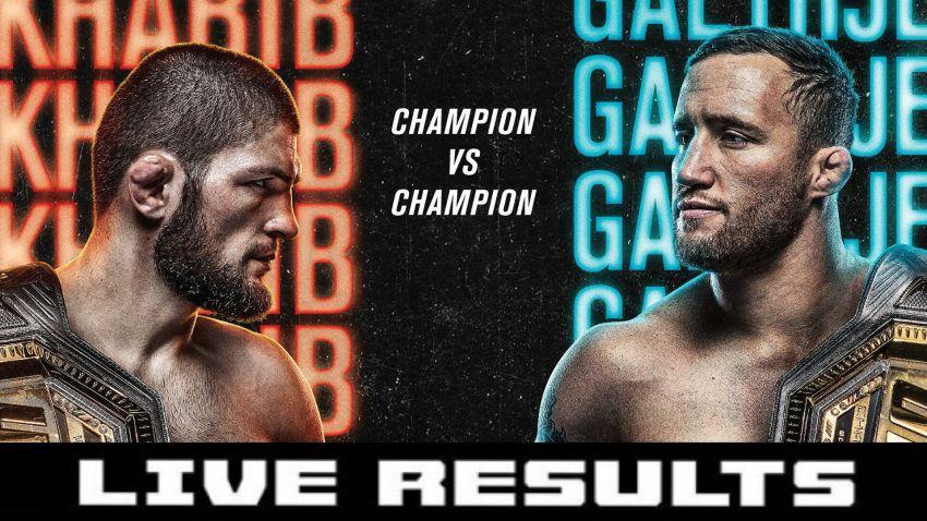 Результаты турнира UFC 254: Хабиб Нурмагомедов - Джастин Гэтжи