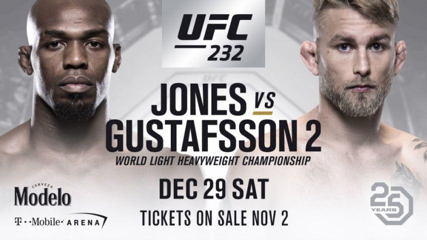 Последний тур. РП ММА №41: UFC 232 Джонс vs. Густафссон 2