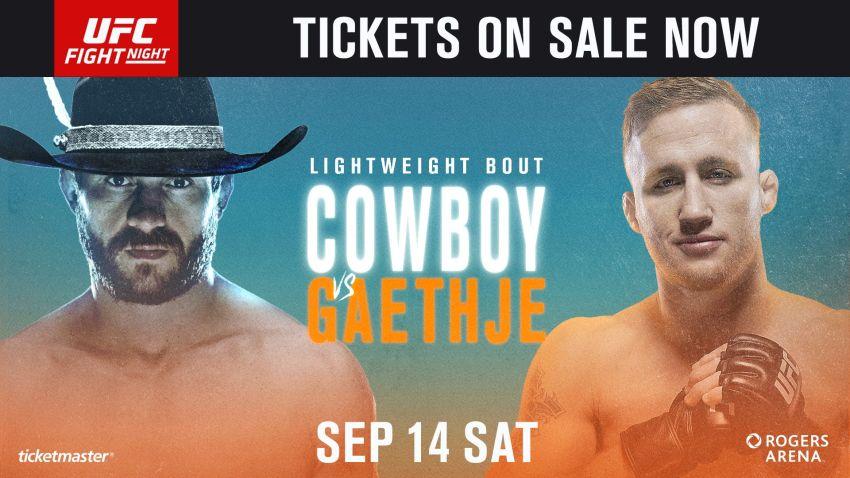 Букмекерские ставки на UFC Fight Night 158: Коэффициенты на турнир Дональд Серроне - Джастин Гэтжи