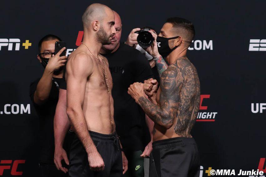 Видео боя Гига Чикадзе - Каб Свонсон UFC on ESPN 23