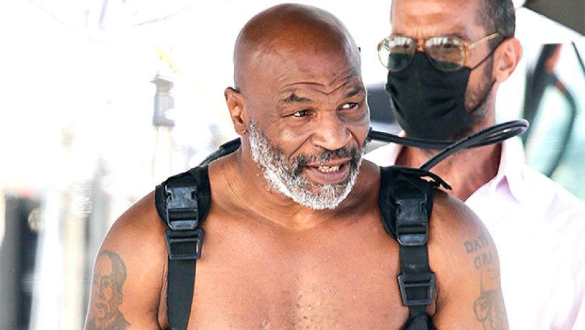 Майк Тайсон признался, сколько килограммов сбросил в процессе подготовки к камбэку
