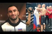 Реакция Мурата Гассиева на победу нокаутом над Влодарчиком