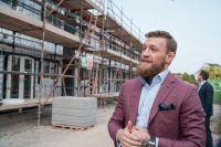 Конор МакГрегор строит дома для бедных семей