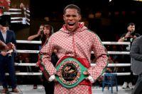 Официально: Дэвин Хэйни восстановлен в качестве чемпиона WBC в легком весе