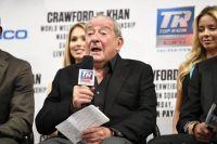 """Боб Арум: """"Бой Кроуфорд - Хан — это сражение двух великих бойцов"""""""