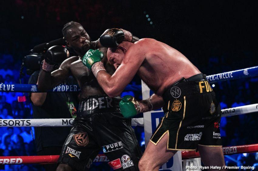 """Деонтей Уайлдер: """"В первом бою с Ортисом я был потрясен намного сильнее, чем в реванше с Фьюри"""""""