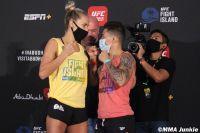 Видео боя Джессика Андраде - Кэтлин Чукагян UFC on ESPN+ 38м