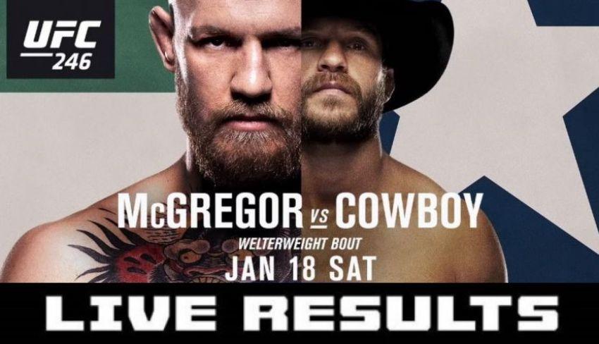 Результаты турнира UFC 246: Конор МакГрегор - Дональд Серроне