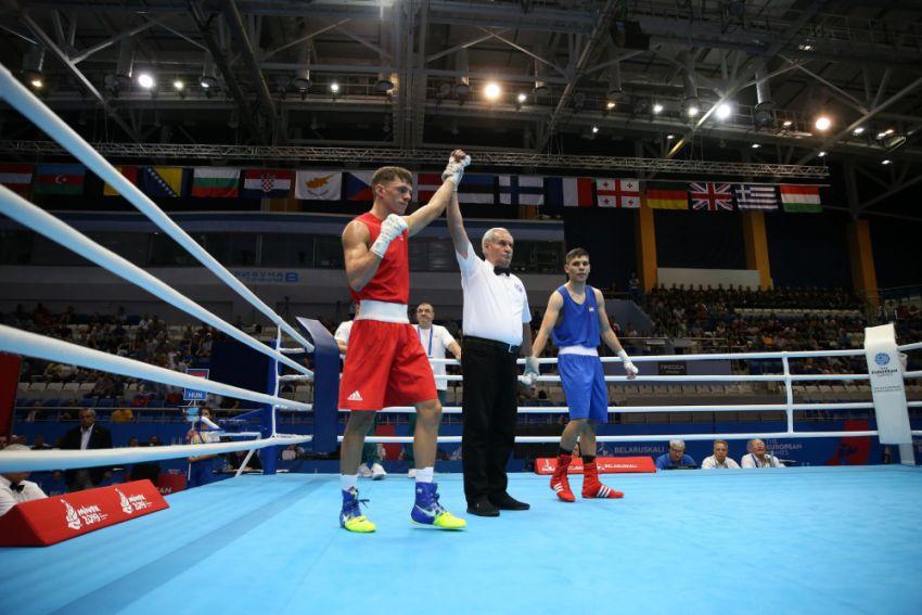 Прямая трансляция боксерского турнира на Европейских играх 2019
