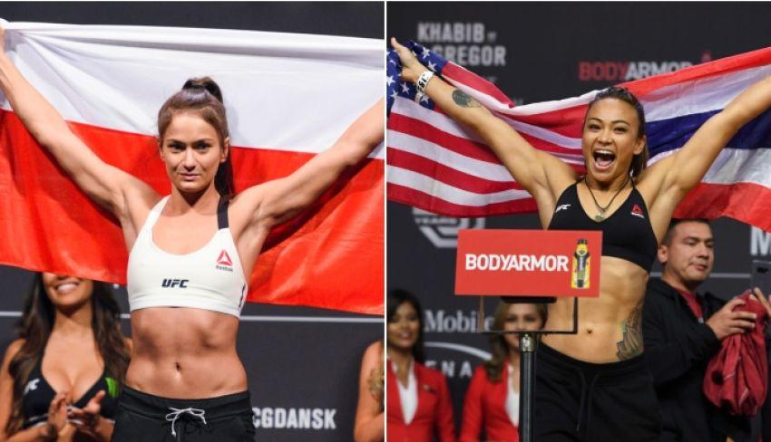 Бой Каролины Ковалькевич и Мишель Уотерсон добавлен в кард турнира UFC в Филадельфии