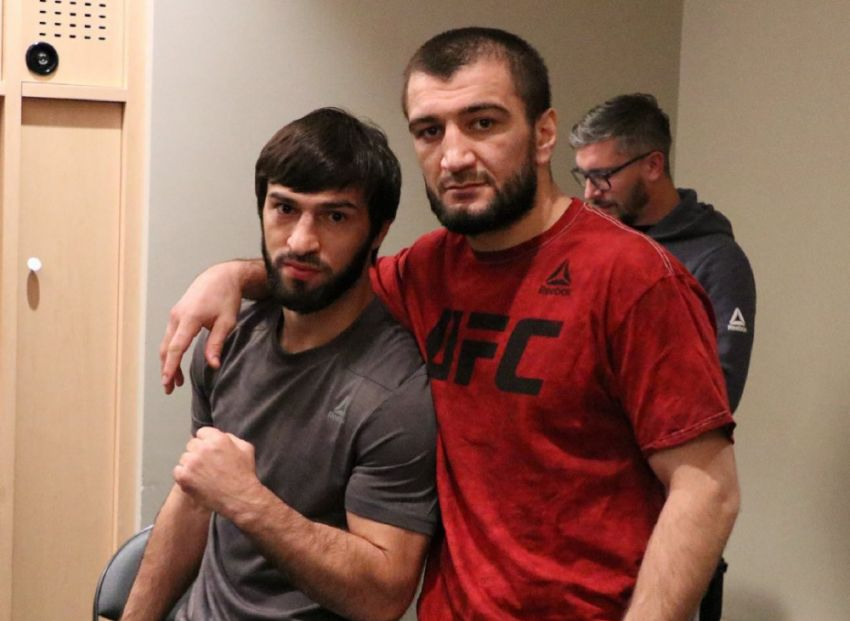 Абубакар Нурмагомедов подписал контракт с UFC, Зубайра Тухугов продлил соглашение
