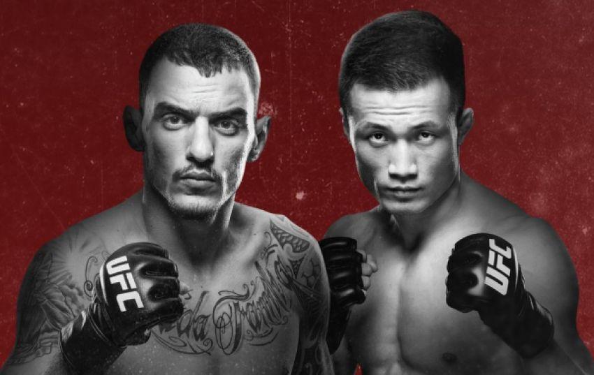 """Результаты турнира UFC Fight Night 154: Ренато Мойкано - """"Корейский Зомби"""""""