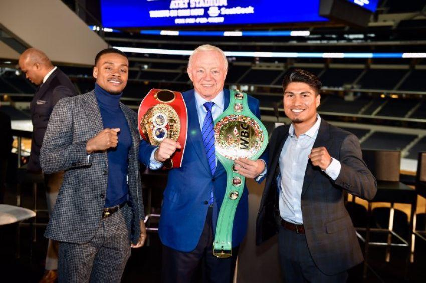 Президент WBC сравнил бой Спенс-Гарсия с великими противостояниями прошлого