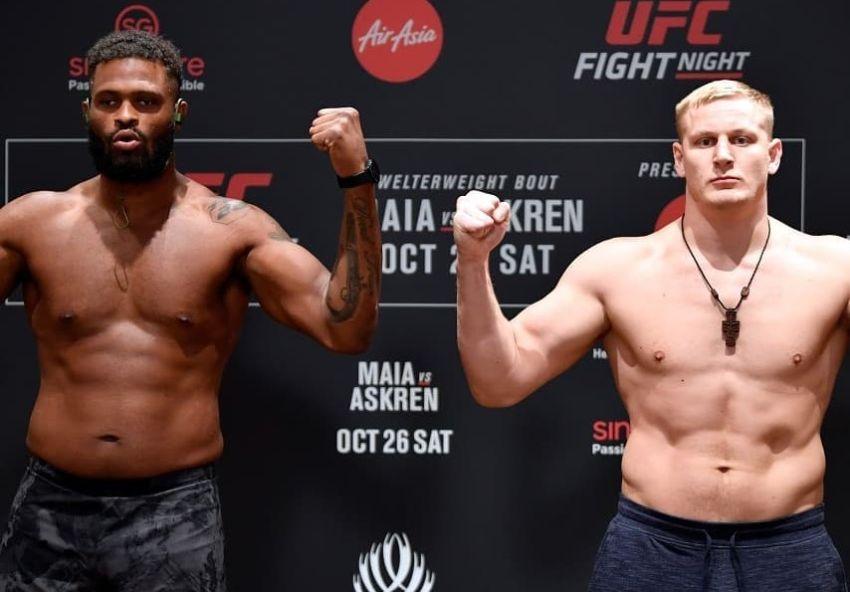Видео боя Сергей Павлович - Морис Грин UFC Fight Night 162