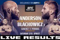 Результаты турнира UFC Fight Night 167: Кори Андерсон - Ян Блахович 2