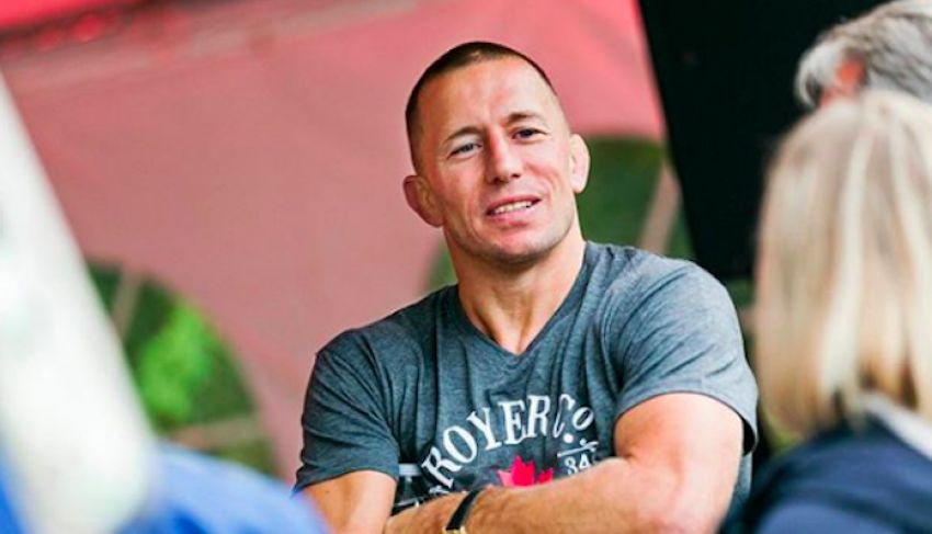 Georges St-Pierre predicted the result of the fight Kamaru Usman - Gilbert Burns