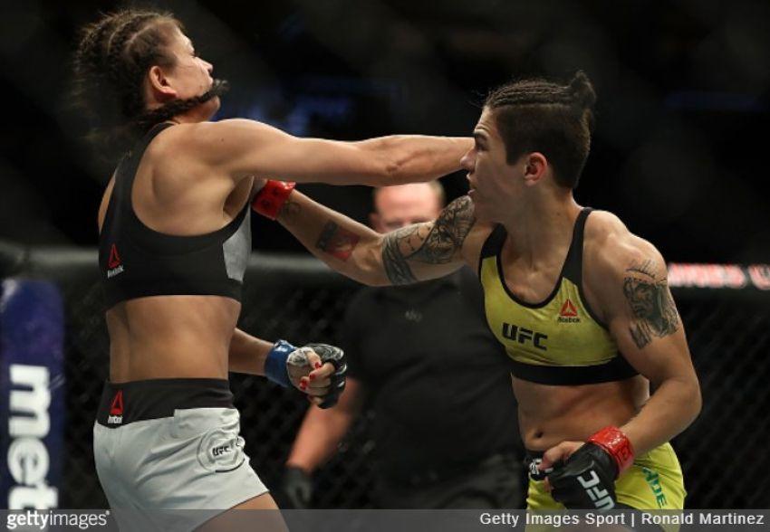 Джессика Андраде хочет драться с Роуз Намаюнас за титул чемпионки UFC в декабре