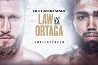 Видео боя Коди Лоу - Орландо Ортега Bellator 250
