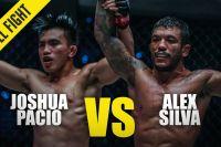 Видео боя Джошуа Пасио – Алекс Сильва ONE Championship: Fire & Fury