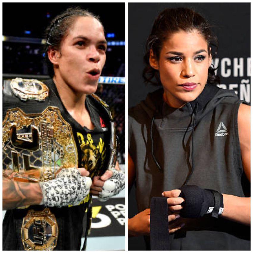 Amanda Nunes and Julianna Pena will fight at UFC 265