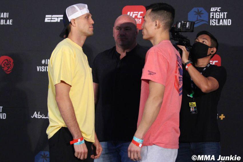 "Видео боя Брайан Ортега - ""Корейский Зомби"" UFC on ESPN+ 38"