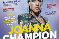 Джоанна Енджейчик на обложке нового выпуска журнала «Fighters Only»
