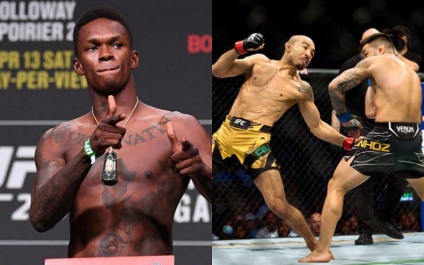 UFC news: Israel Adesanya considers Jose Aldo one of the contenders for the status  of the greatest fighter of all time.
