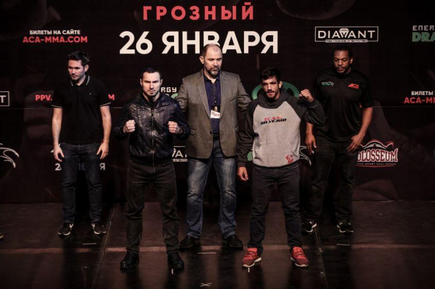 Видео боя Арби Агуев - Элиас Сильверио ACA 91