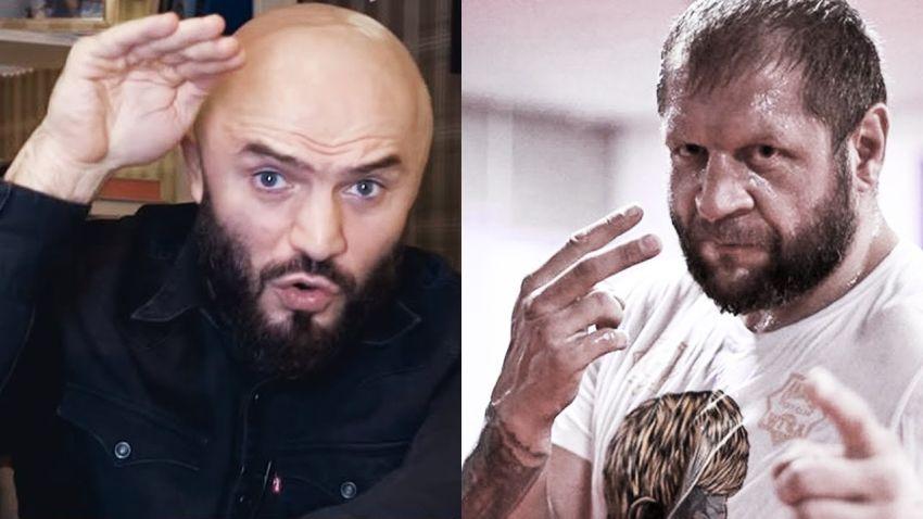 """Александр Емельяненко обратился к Исмаилову: """"Тренируй свою лысую голову, гасить тебя буду"""""""
