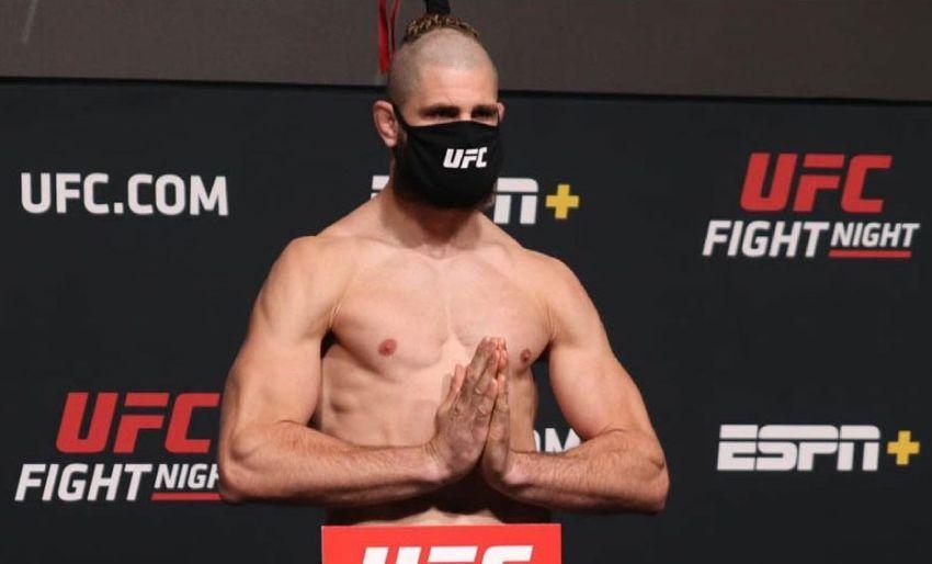 Результаты взвешивания турнира UFC on ESPN 23