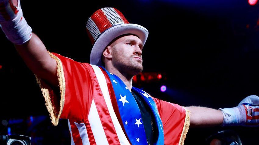 Тайсон Фьюри возглавил обновленный рейтинг супертяжеловесов по версии The Ring