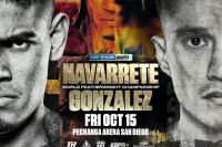 Официально: Эмануэль Наваррете встретится с Джоэтом Гонсалесом 15 октября