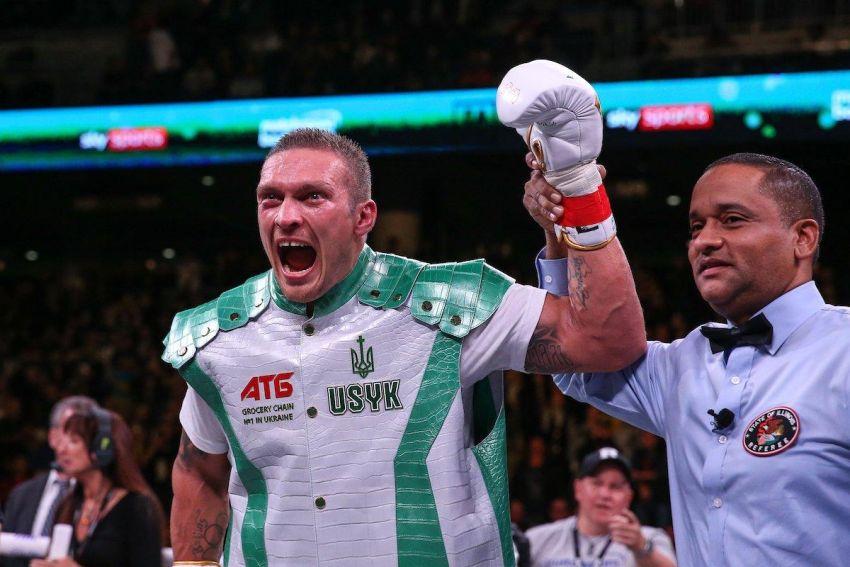 Александр Усик ворвался в топ-5 рейтинга супертяжеловесов по версии WBC