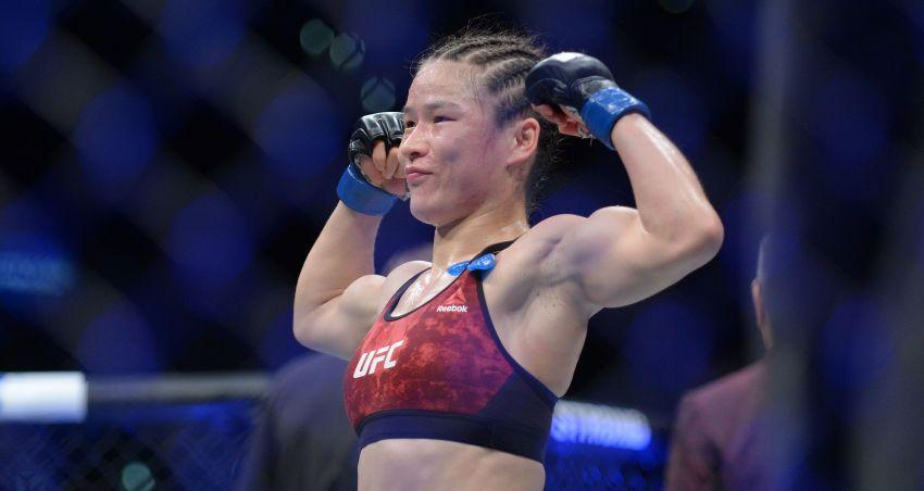 Ронда Роузи поздравила Вейли Жанг с победой на UFC Fight Night 157