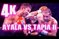 Яркие моменты боя Поли Айяла - Джонни Тапиа 2 в 4K