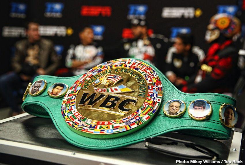 В WBC намерены снизить обязательные взносы для бойцов