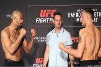Видео боя Джек Херманссон - Дэвид Бранч UFC on ESPN 2
