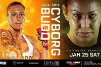 Прямая трансляция Bellator 238: Джулия Бадд – Крис Сайборг