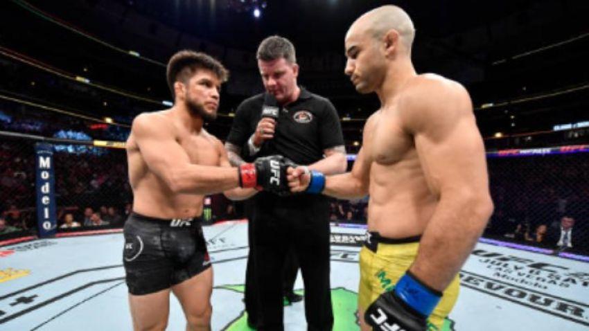 Рефери Марк Годдард выразил свое восхищение поединком Генри Сехудо и Марлона Мораеса на UFC 238