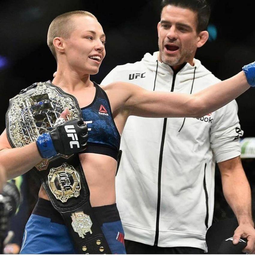Роуз Намаюнас нокаутировала Вейли Жанг на UFC 261