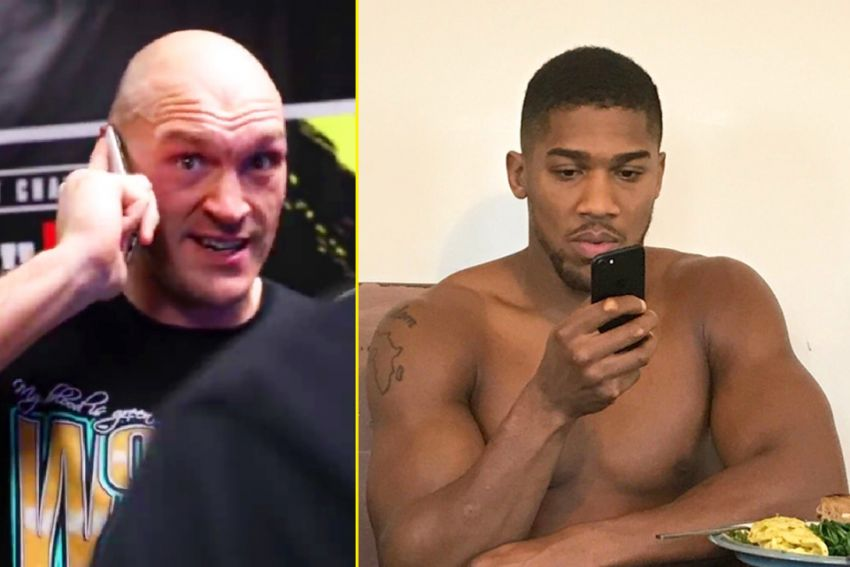 Boxing news: Tyson Fury told about an unpleasant phone conversation with Anthony Joshua