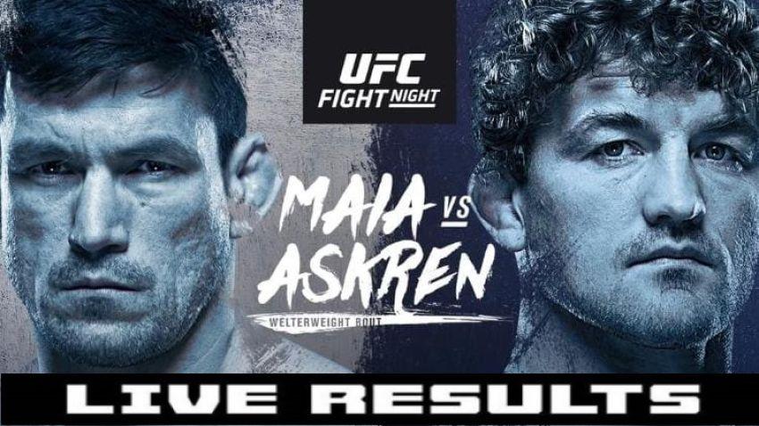 Результаты турнира UFC Fight Night 162: Бен Аскрен - Демиан Майя