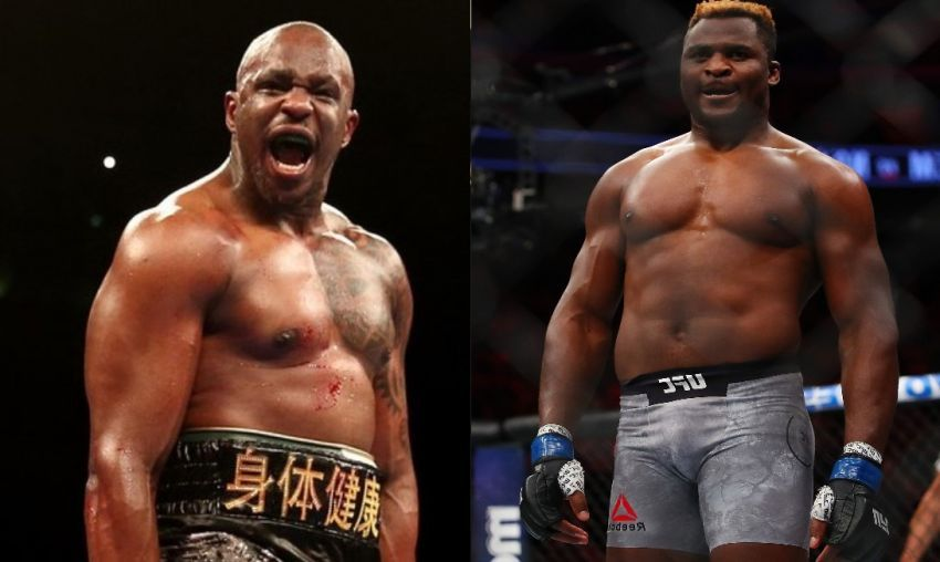 Eddie Hearn is ready to organize two fights between Francis Ngannou and Dillian Whyte