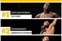 Обновленный рейтинг P4P UFC