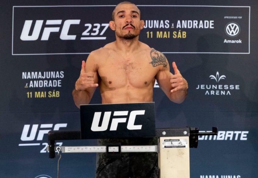 Результаты взвешивания участников UFC 237: Андерсон Сильва - Джаред Каннонье, Жозе Алдо - Алекс Волкановски
